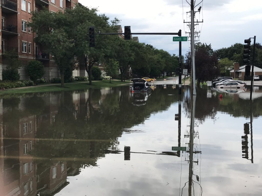 flooding in chicago
